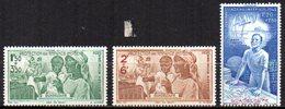 Col10    Guadeloupe PA  N° 1 à 3 Neuf X MH  Cote : 3,30 Euro Cote 2015 - Guadalupe (1884-1947)