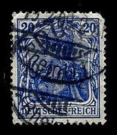 Germany 1905-1919, Scott , Germania, Deutsches Reich 84, Wmk 125, Used, NH - Germany