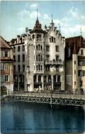 Luzern - Reussbrücke - Damenconfectionshaus - LU Lucerne