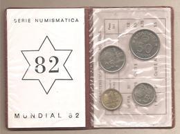 """Spagna - Serie Numismatica 1982 """"Mundial 82"""" - [ 5] 1949-… : Regno"""