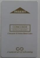 Concorde Hotels & Resorts, Concorde El Salam Hotel Cairo, Egypt. - Cartas De Hotels