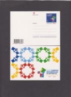 2.- PORTUGAL 2018 POSTAL STATIONERY MATHEMATICS OLIMPIC GAMES - Postal Stationery