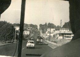 PHoto Prise Vers San Sebastien Guipuzcoa Guipuscoa En Septembre 1962 Station Essence Total Pub Rhum Négrita - Lieux