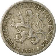 Monnaie, Tchécoslovaquie, Koruna, 1922, TB, Copper-nickel, KM:4 - Tchécoslovaquie