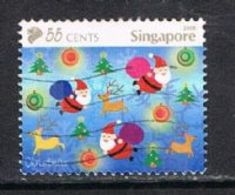 Singapore 2008 Festivals 55c Type 4 Good/fine Used [15/14408/ND] - Singapore (1959-...)