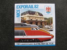 "TB B.F. Privé "" EXPORAIL, NICE82"". - Blocks & Kleinbögen"