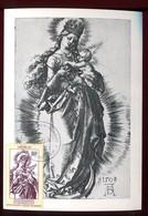 Penrhyn - Carte Maximum 1982 - Oeuvre De Dürer - Penrhyn