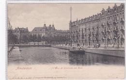 Amsterdam Hugo De Grootkade Met Kerk # 1910    1116 - Amsterdam
