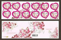 2009 Carnet Adhésif St Valentin Coeur D' UNGARO-N° BC 266 - NEUF - LUXE ** NON Plié - Commémoratifs