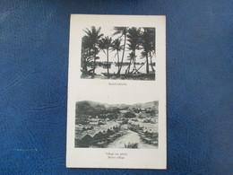 CPA PAPOUASIE NOUVELLE GUINEE HANUABADA VILLAGE SUR PILOTIS - Papua New Guinea