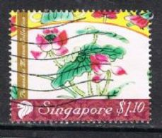 Singapore 2008 Peranakan Museum Collection $1.10 Type 2 Good/fine Used [15/14418/ND] - Singapore (1959-...)