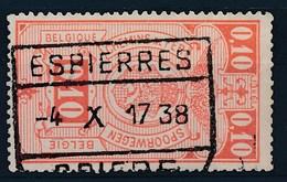 """TR 136  - """"ESPIERRES - SPIERE"""" - (ref. LVS-25.647) - Railway"""
