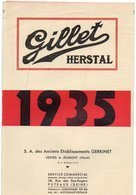 85Mé  Moto Velomoteurs Tacot Gillet Herstal De 1935 à Jeumont Catalogue Descriptif Technique Et Prix - 1900 – 1949