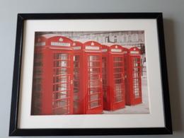 Affiche Encadrée : Les Téléphones De Londres  & - Dessins