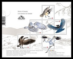 Canada 2018 Mih. 3652/56 (Bl.279I) Fauna. Birds Of Canada (with Overprint Ornithological Congress In Vancouver) MNH ** - 1952-.... Reinado De Elizabeth II