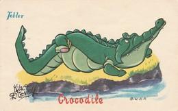 Disney : CROCODILE : Chocolat Tobler ( Pub Au Dos ) - Disney