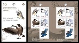 Canada 2018 Mih. 3657/61 Fauna. Birds Of Canada (booklet) MNH ** - 1952-.... Reinado De Elizabeth II