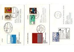 Courriers De La Poste Aérienne - Allemagne