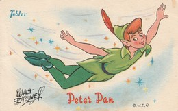 Disney : PETER-PAN : Chocolat Tobler ( Pub Au Dos ) - Disney