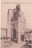 CPA - VILLEFRANCHE DE ROUERGUE Le Christ Et Le Clocher - Villefranche De Rouergue