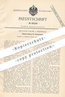 Original Patent - Auguste Laune , Marseille , 1895 , Zündung Für Grubenlampen   Lampe , Lampen   Bergbau , Bergwerk !!! - Historische Dokumente