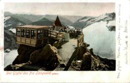 Der Gipfel Des Piz Languard - GR Graubünden