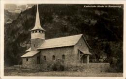 Katholische Kirche In Kandersteg - BE Berne