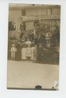 MOREZ - Belle Carte Photo Prise Devant Le CAFÉ RESTAURANT DELORME , écrite En 1907 - Morez