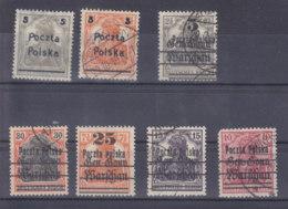 Deutsche Post In Polen     3/02 - Oblitérés