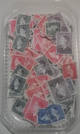 Belgique 1952/57 - Premiers Timbres à L'effigie De Baudouin - Petit Lot De 250°   Pour étude - Petit Et Grand Format - 1981-1990 Velghe