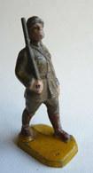 FIGURINE BEFFOID WWI SOLDAT AU DEFILE CASQUE ADRIEN KAKI Restauré - Figurines