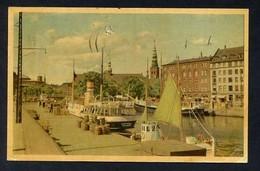 Borskajen. *The Exchange Embankament* Edit. W. & L. Serie 905-6. Circulada 1953. - Dinamarca