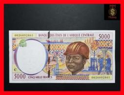 C.A.S CENTRAL AFRICAN STATES CONGO 5.000 5000 Francs  2000  P. 104 C  UNC - États D'Afrique Centrale