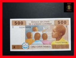 C.A.S CENTRAL AFRICAN STATES CONGO 500 Francs 2002  P. 106 Tc  UNC - États D'Afrique Centrale