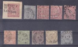 Norddeutscher Postbezirk  Lot    3/65 - Conf. De L' All. Du Nord