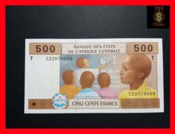 C.A.S CENTRAL AFRICAN STATES CONGO 500 Francs 2002  P. 106 Tc  UNC - Congo