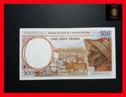 C.A.S CENTRAL AFRICAN STATES CAMEROUN 500 Francs 1994  P. 201 E B  UNC - États D'Afrique Centrale