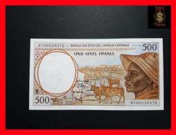 C.A.S CENTRAL AFRICAN STATES CAMEROUN 500 Francs 1997  P. 201 E D UNC - Zentralafrikanische Staaten