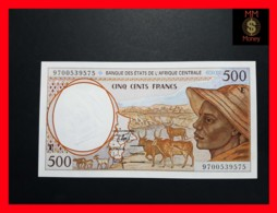 C.A.S CENTRAL AFRICAN STATES CAMEROUN 500 Francs 1997  P. 201 E D UNC - Cameroun
