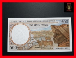 C.A.S CENTRAL AFRICAN STATES CAMEROUN 500 Francs 2002  P. 201 E H  UNC - États D'Afrique Centrale