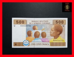 C.A.S CENTRAL AFRICAN STATES CAMEROUN 500 Francs 2002  P. 206 Ua - États D'Afrique Centrale
