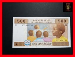 C.A.S CENTRAL AFRICAN STATES CAMEROUN 500 Francs 2002  P. 206 Ud  Hybrid - États D'Afrique Centrale