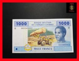 C.A.S CENTRAL AFRICAN STATES CAMEROUN 1.000 1000 Francs 2002  P. 207 Ua - États D'Afrique Centrale