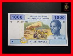 C.A.S CENTRAL AFRICAN STATES CAMEROUN 1.000 1000 Francs 2002  P. 207 U  Hybrid - États D'Afrique Centrale