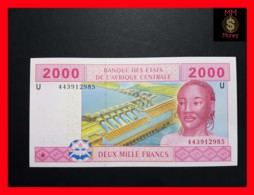 C.A.S CENTRAL AFRICAN STATES CAMEROUN 2.000 2000 Francs 2002  P. 208 U  Hybrid - États D'Afrique Centrale