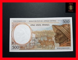 C.A.S CENTRAL AFRICAN STATES CENTRAL AFRICA 500 Francs 1999  P. 301 F F - Centrafricaine (République)
