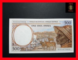 C.A.S CENTRAL AFRICAN STATES GABON 500 Francs 1993  P. 401 L A - États D'Afrique Centrale