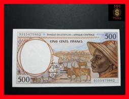 C.A.S CENTRAL AFRICAN STATES GABON 500 Francs 1993  P. 401 L A - Gabun