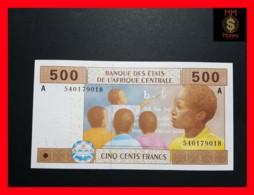 C.A.S CENTRAL AFRICAN STATES GABON 500 Francs 2002  P. 406 Ac - États D'Afrique Centrale