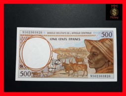 C.A.S CENTRAL AFRICAN STATES EQUATORIAL GUINEA 500 Francs 1995  P. 501 N C - Equatorial Guinea
